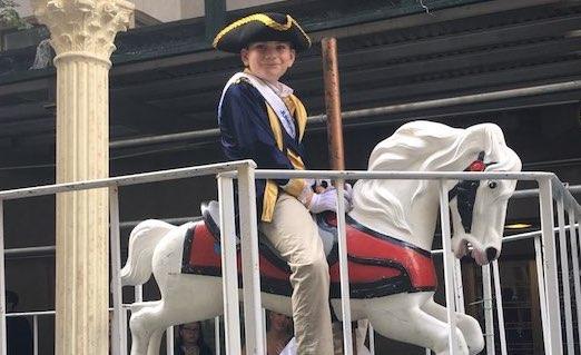 William Castle as Junior General Steuben