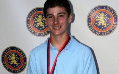 Karl Holle Awarded 8th Grade Scholarship