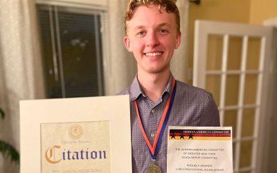 Nikolas Burzynski Awarded $3000 Scholarship